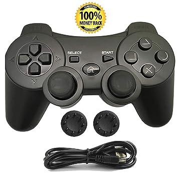Mando PS3 inalámbrico Bluetooth Gamepad doble vibración Six-Axis mando a distancia Joystick para Playstation