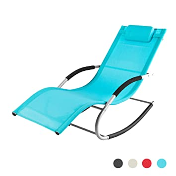 Chaise longue transat for Transat relax basculant