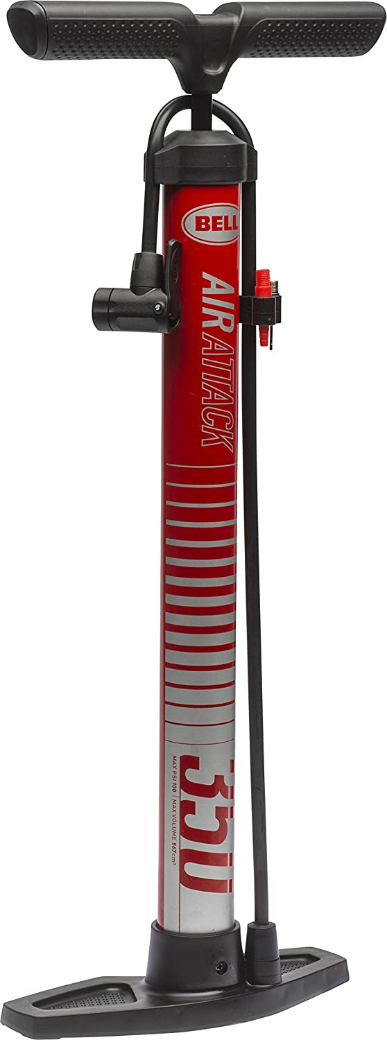 Bell Air Attack 350 High Volume Bicycle Pump : Sports & Outdoors
