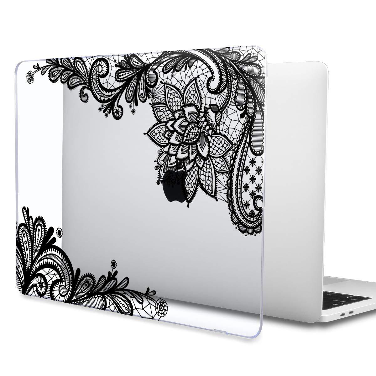 TwoL Funda Dura Carcasa para MacBook Air 13 Pulgadas 2018 Modelo A1932 Retina Creative Lampe