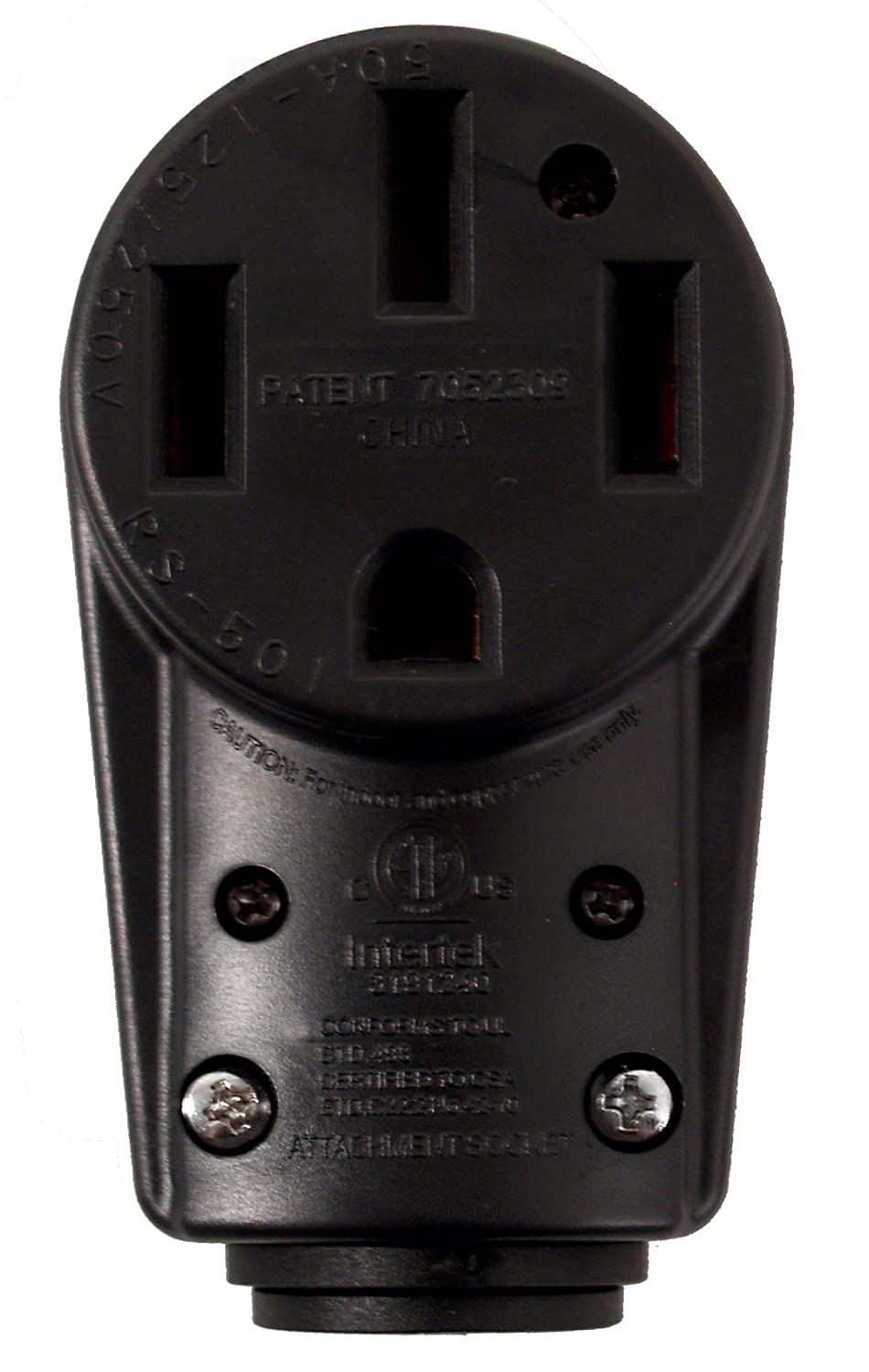 Voltec 16-00579 50 Amp Female Replacement Head