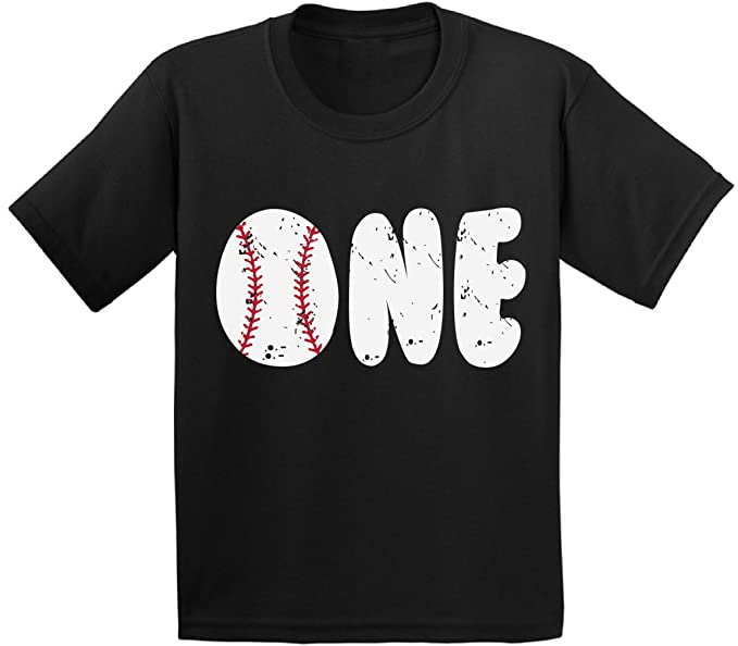 Awkward Styles Baseball Birthday Toddler T Shirts Infant First Party Baby Black 6M