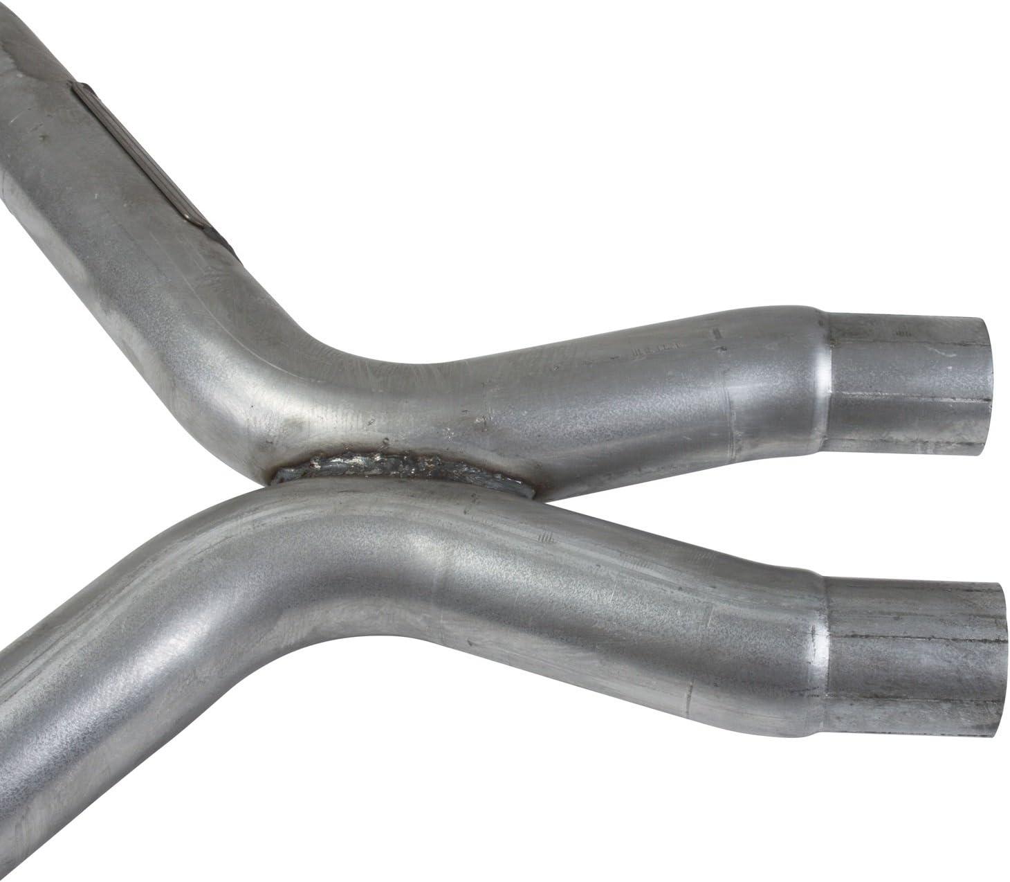 BBK bbk1462 Mustang 3.7 V6 X Pipe-Off Road Race Use 2-1//2 For Long Tube Headers