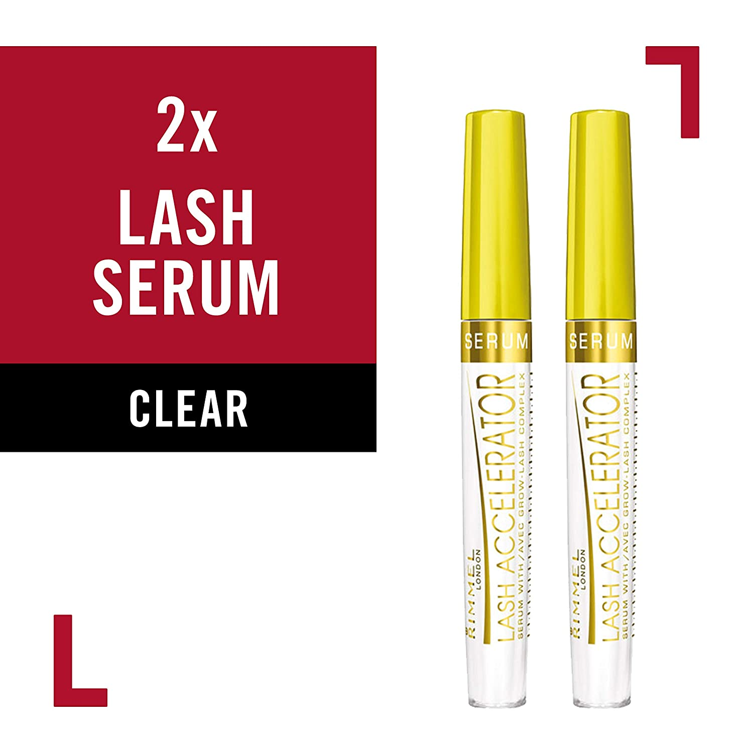 507076c9c40 Amazon.com: Rimmel Lash Accelerator Serum, Clear, Nourishing Serum for the  Appearance of Full, Lush Eyelashes and Eyebrows, Enhance the Natural Growth  of ...
