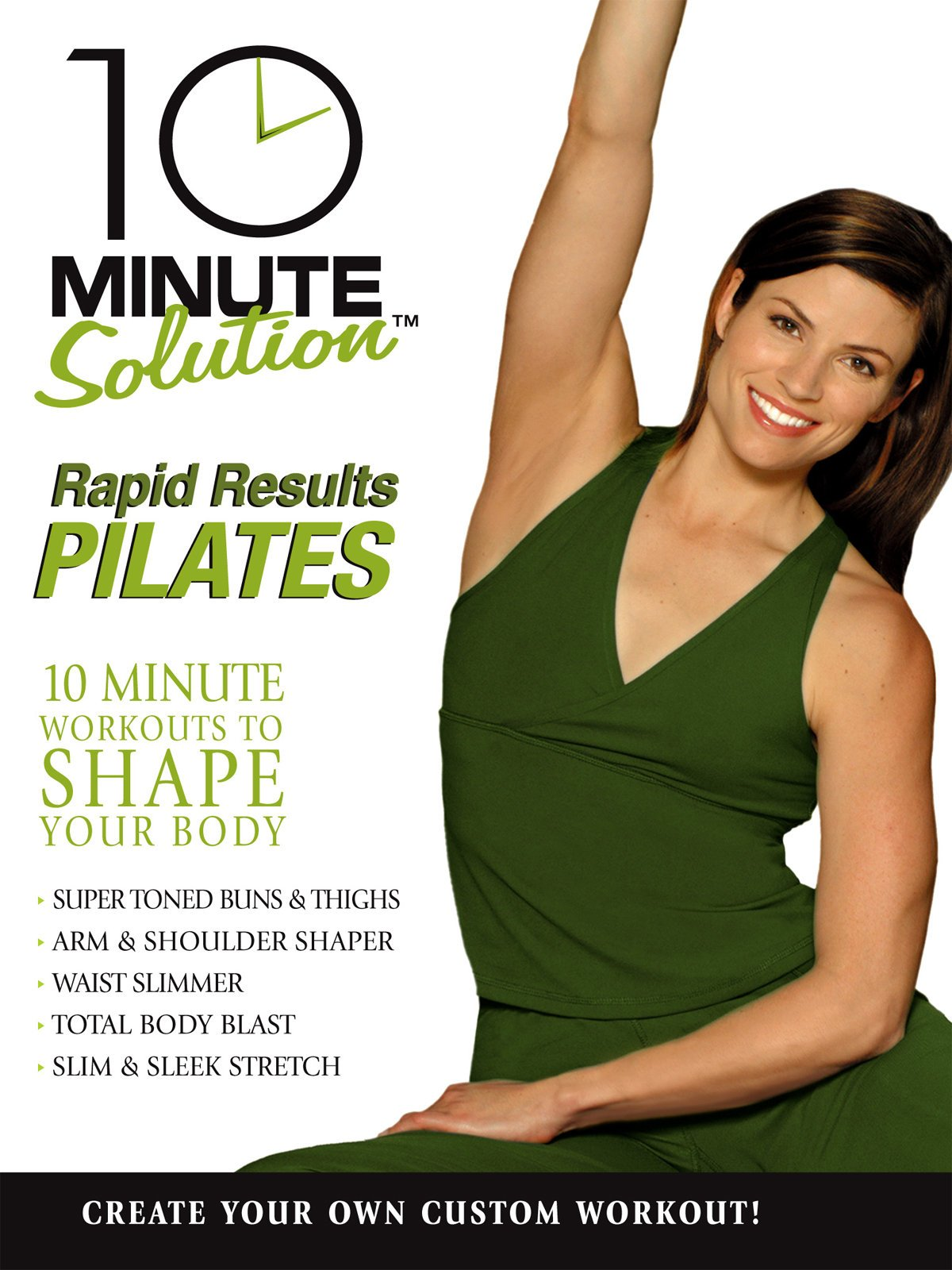 10 minute solution: rapid results pilates | collage video.