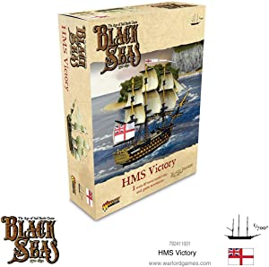 Black Seas The Age of Sail HMS Victory for Black Seas Table Top Ship Combat Battle War Game 792411001