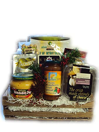 Amazon.com : Diabetic Healthy Christmas Gift by Well Baskets ...