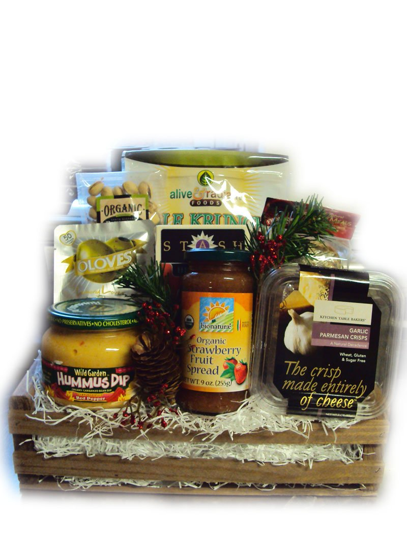 Diabetic Healthy Christmas Gift by Well Baskets by Well Baskets