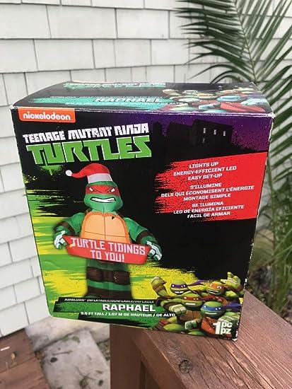 Amazon.com: 3,5 'airblown Raphael de las Tortugas Ninja ...