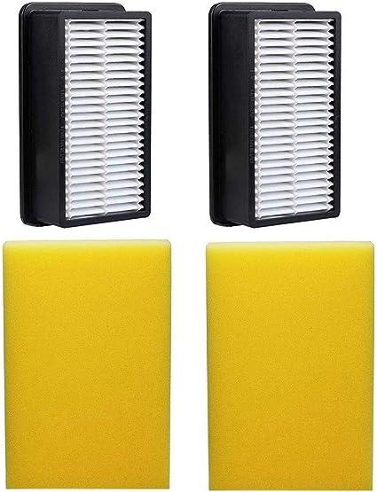 HEPA Post foam Filter Kit fit Bissell Cleanview vacuum 9595  203-2663 203-2662