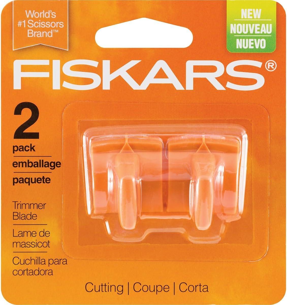 Fiskars 177500  Reinforced Trimmer Blades 2//Pkg
