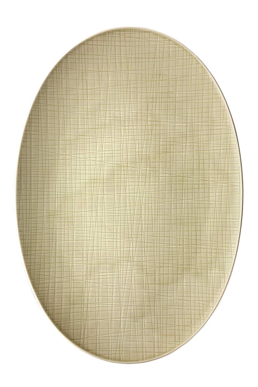 Rosanthal 11770-800001-12738 Mesh Platte, oval, 38 cm, weiß B00WFSTIK8 Servierplatten