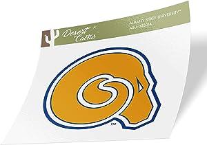Albany State University ASU Golden Rams NCAA Vinyl Decal Laptop Water Bottle Car Scrapbook (Sticker - 00001A)