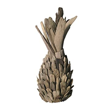 Lazy Susan 356019 Driftwood Pineapple Home Decor