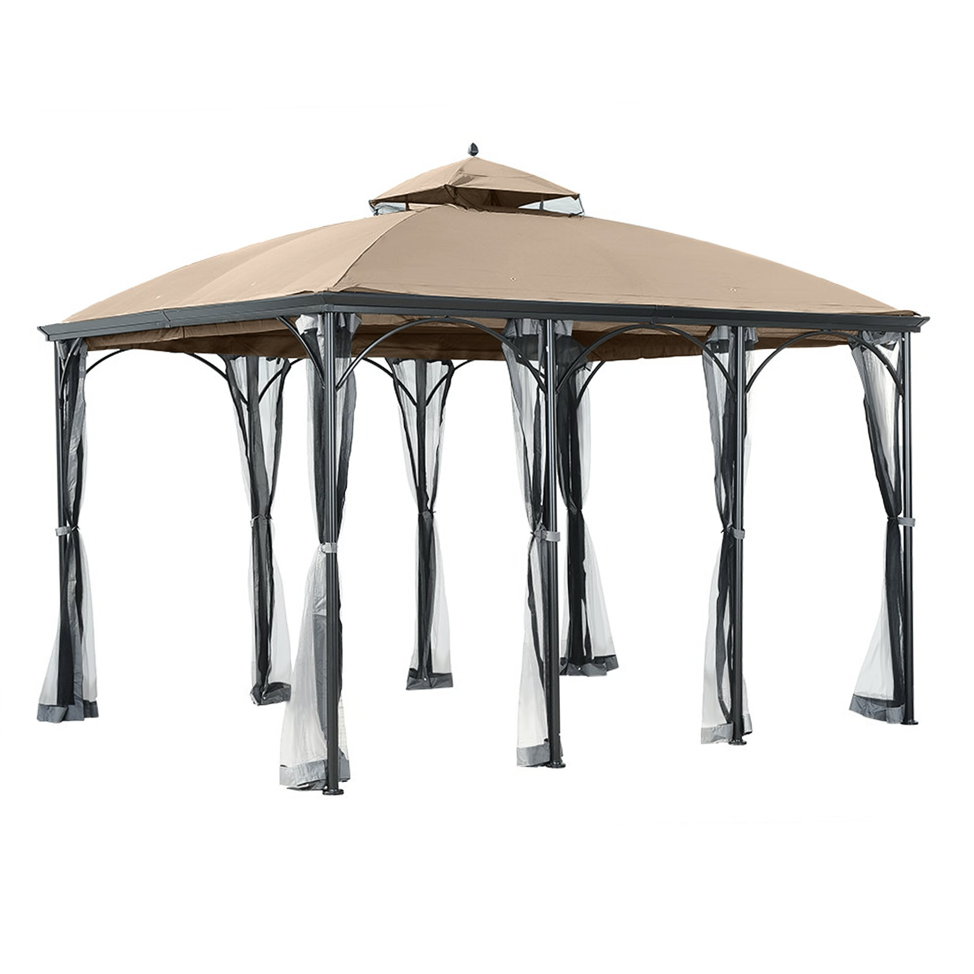 Garden Winds Replacement Canopy for The Big Lots Somerset Gazebo - 350 by Garden Winds