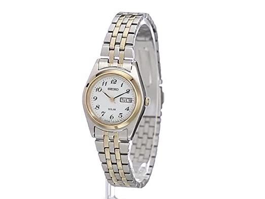 Seiko Womens SUT116 Stainless Steel Two-Tone Watch
