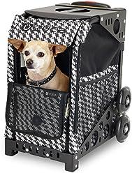 ZUCA ZuZuca Pet Carrier Insert Bag - Houndstooth Black, Houndstooth Pink, or Best in