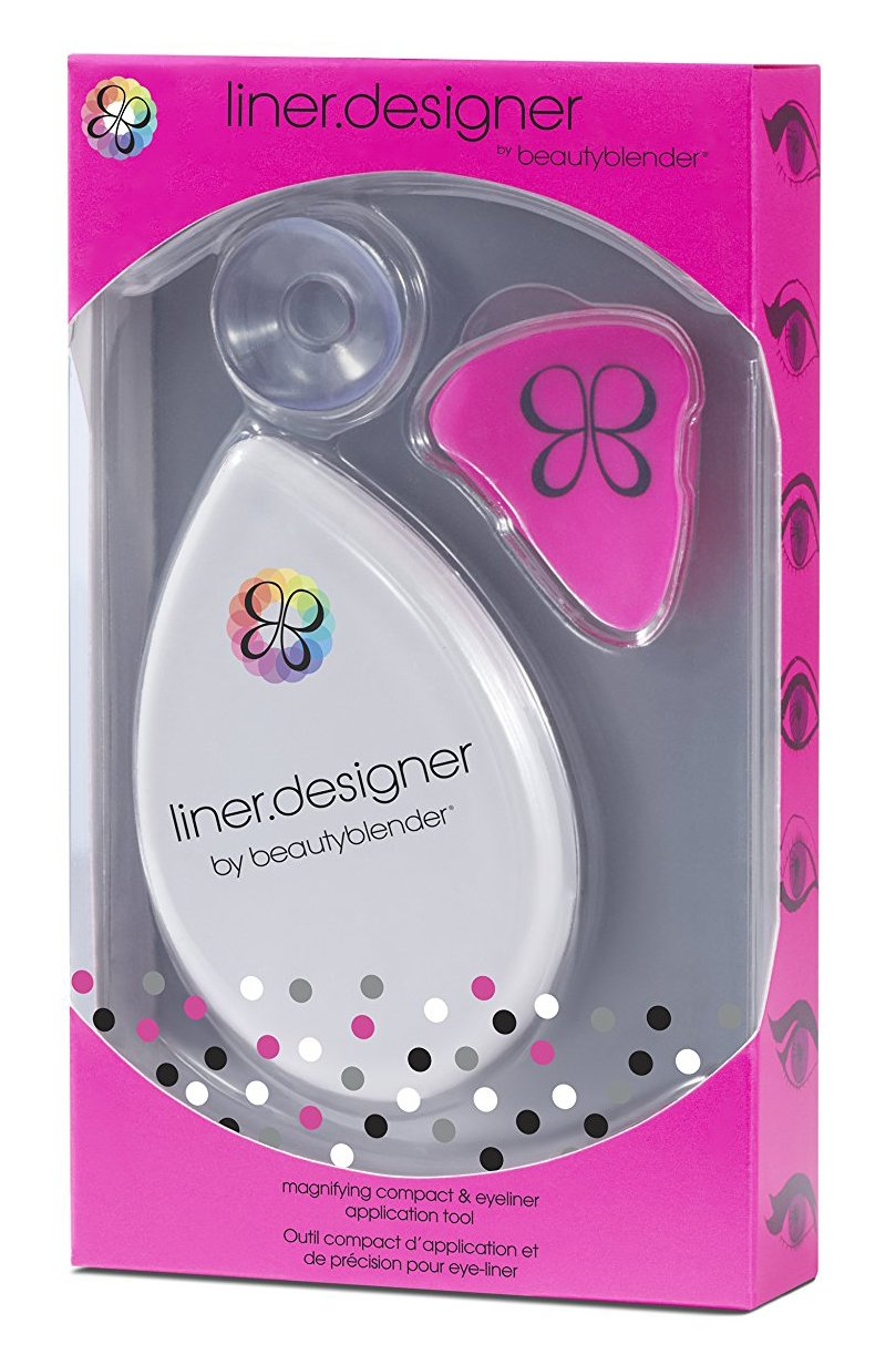 beautyblender liner.designer: Eyeliner & Eye Pencil Tool with Magnifying Mirror & Suction Cup MAIN-HSBB2