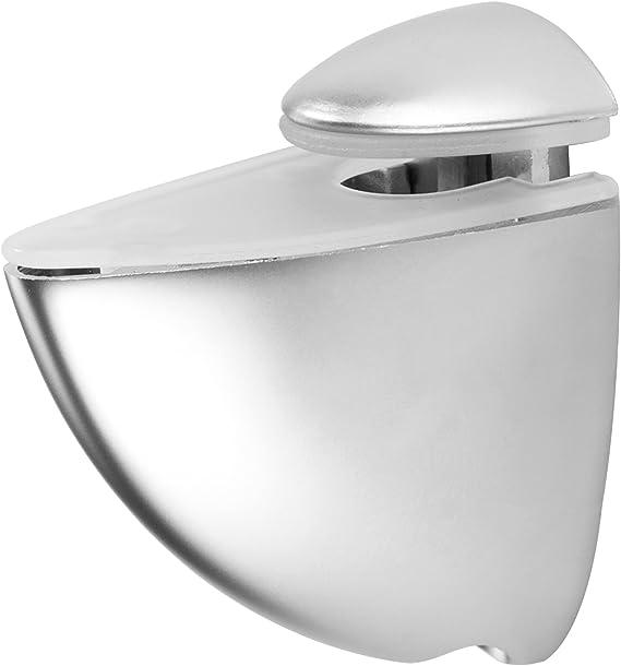 aspecto de acero fino SO-TECH/® Soporte para estanter/ía de cristal PELIKAN grande