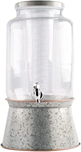 Home Essentials Heritage Home 2-Gallon Dispenser with Infuser and Base