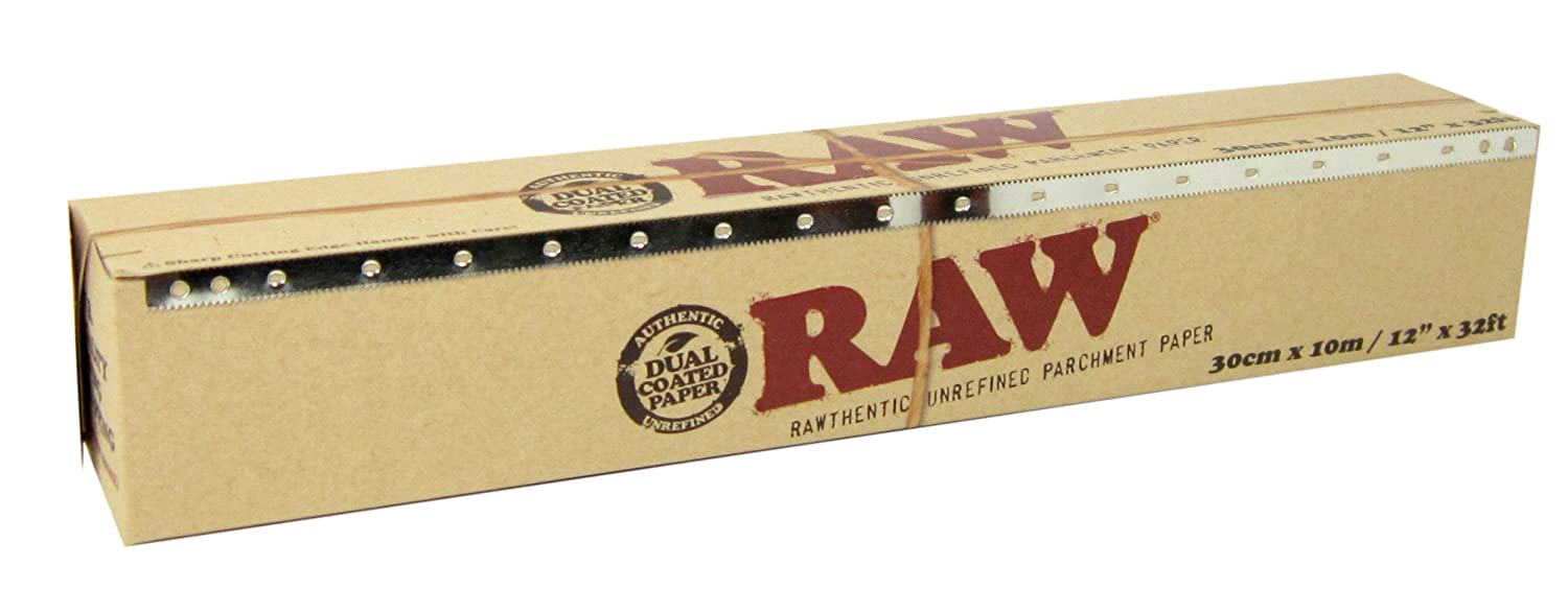 RAW Unrefined Parchment Paper Specialty Baking & Wrapping 12 x 32ft - 30cm x 10m 6269116
