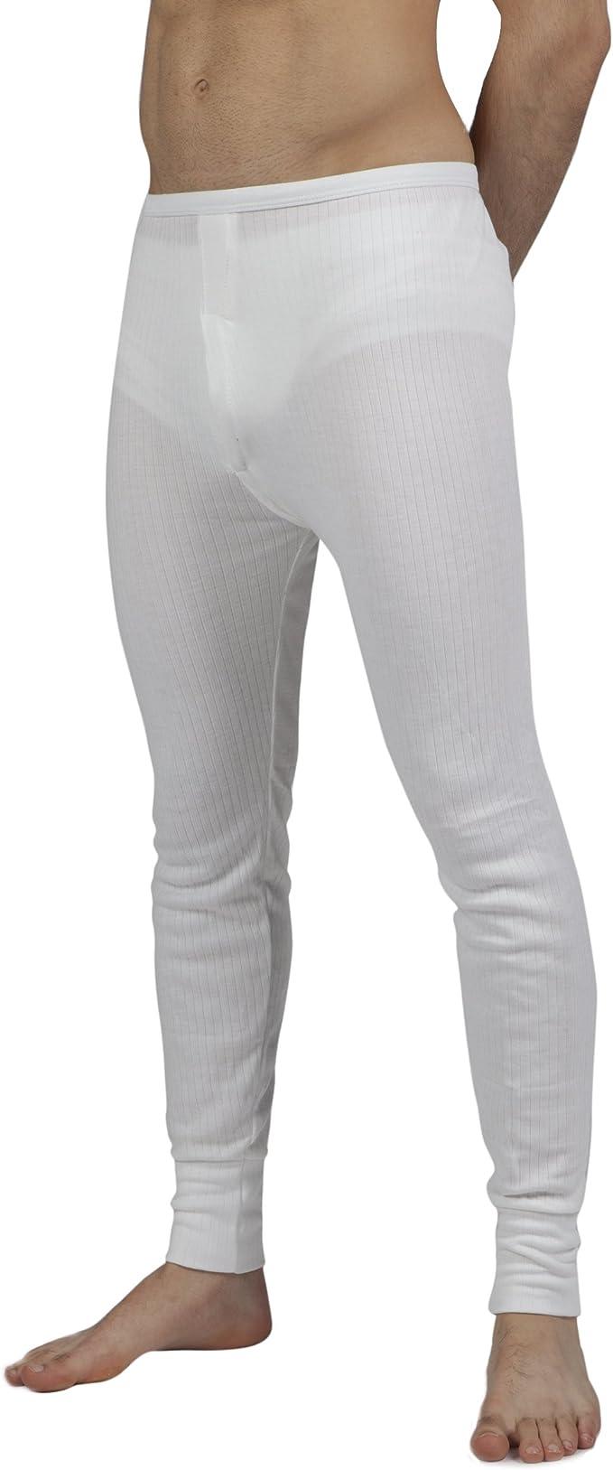 LisaModa Herren Thermounterhose 2er Pack Winter Leggings