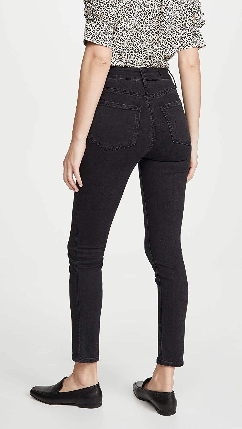PAIGE Womens Margot Ankle Jeans with Front Yoke