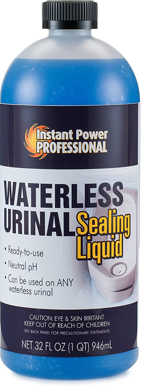 Instant Power Professional Waterless Urinal Sealing Liquid, 8201, 32 Fl. Oz.