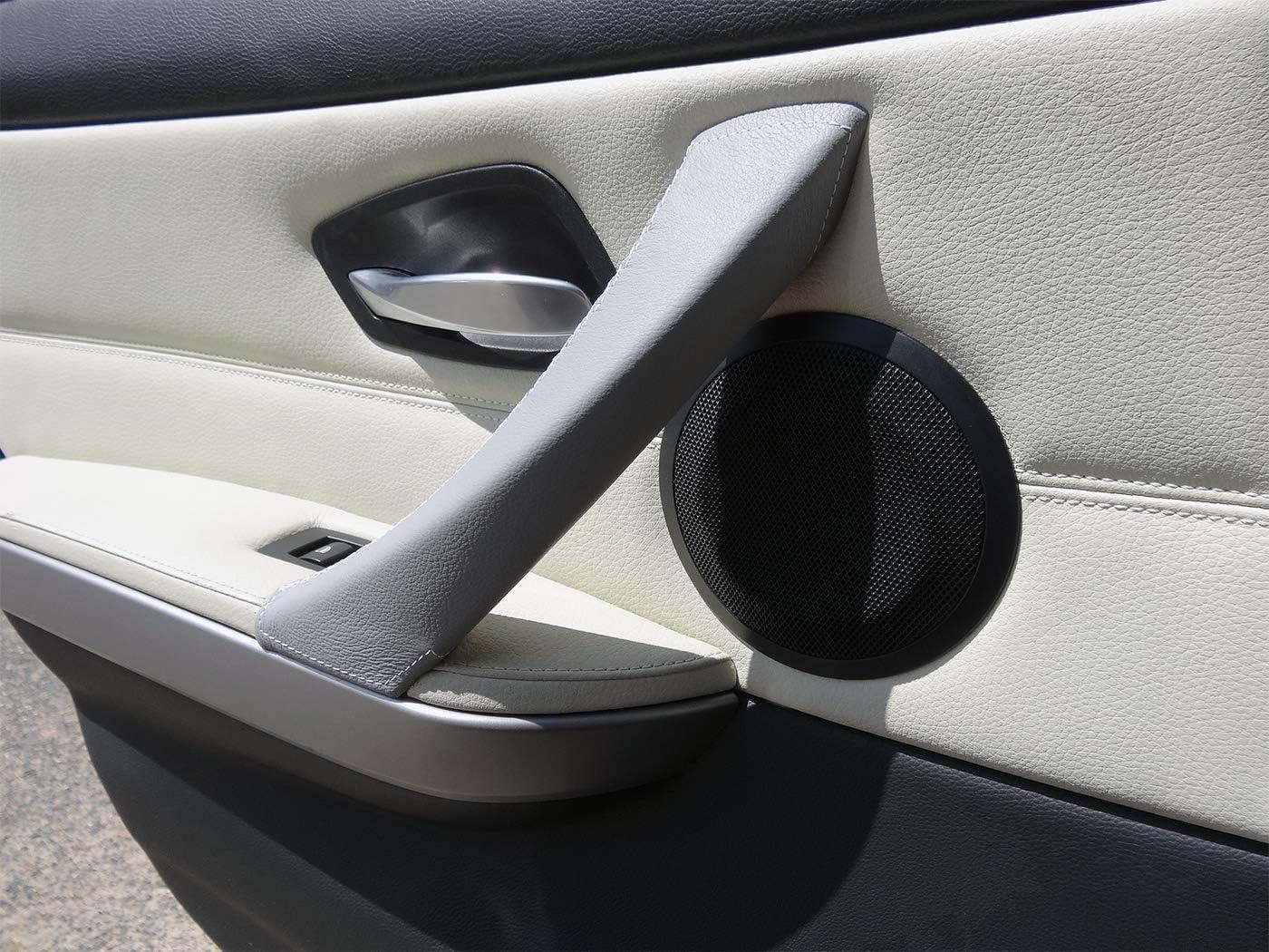 YlRNhe For BMW E90 E92 E93 E87 3 Series 2005-2012 Carbon Fiber Style ABS Car Gear Shift Head Cover Trim
