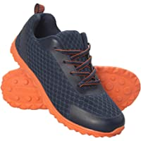 Mountain Warehouse Lightweight Kids Trainers - Synthetic & Mesh Upper Children's Shoes, Phylon Midsole Summer Sneakers, Mesh Lining Walking Shoes -for Travelling, Hiking