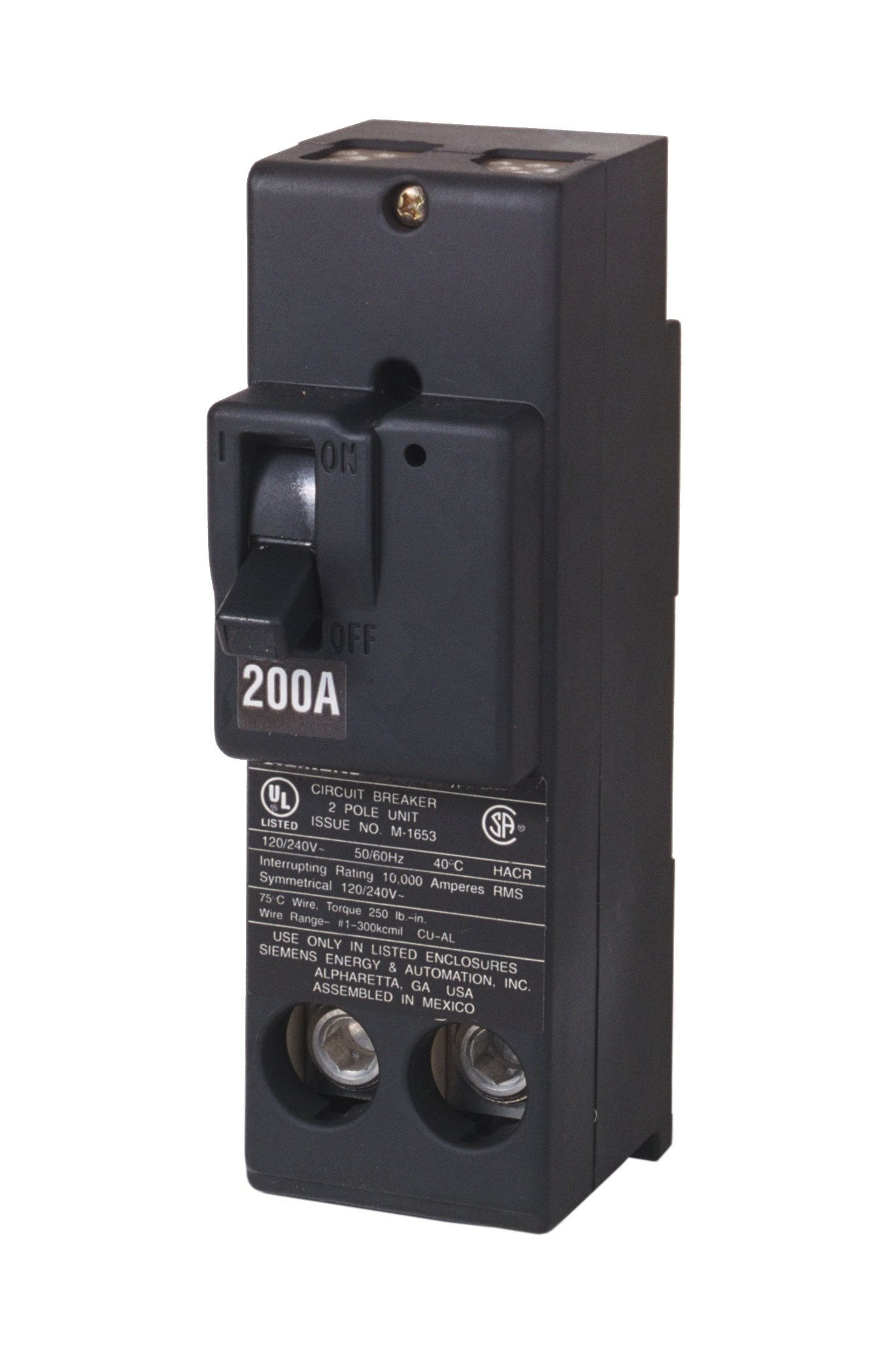 Siemens QN2200 200-Amp 4 Pole 240-Volt Circuit Breaker by SIEMENS