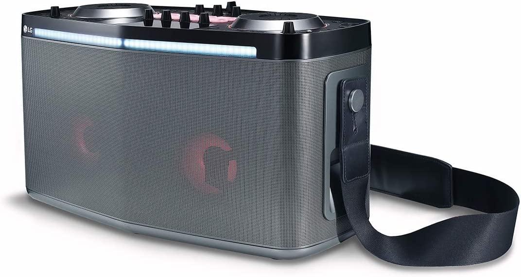 LG RK8 LOUDR Portable Entertainment System with Bluetooth Connectivity 2018