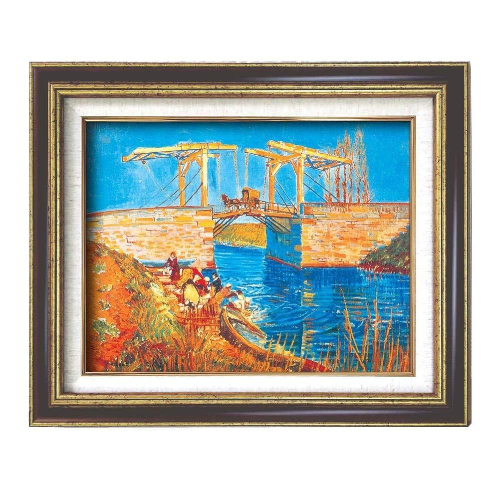 (額装品)世界の名画9573 F6 ゴッホ「アルルのはね橋」 117140   B07Q13ZFF2