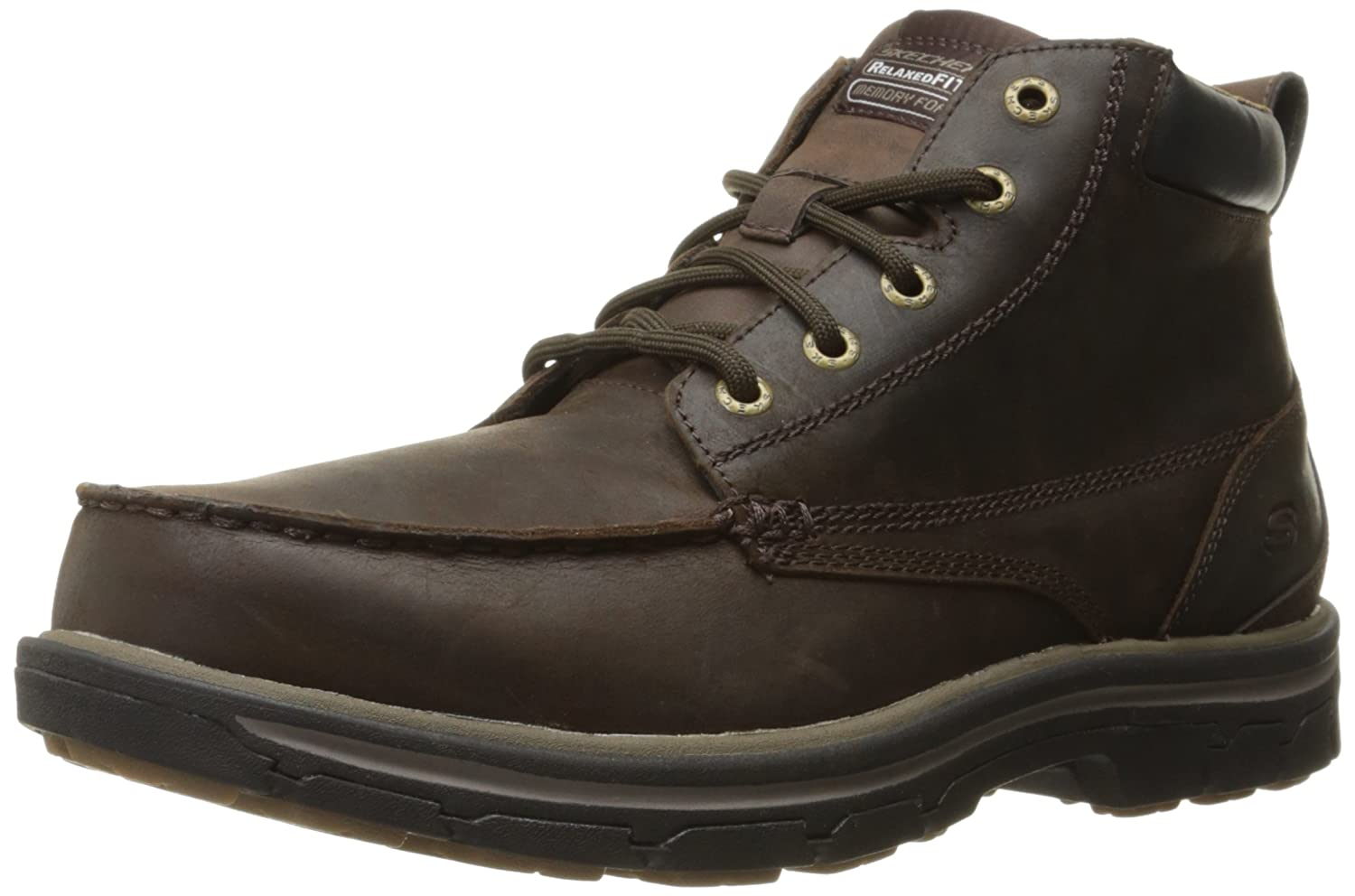 Skechers USA Men's Segment-Barillo Boot Skechers USA Footwear Mens 64265