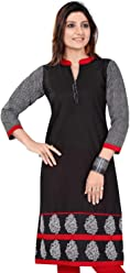 Unifiedclothes Women Fashion Party Indian Kurti Tunic Kurta Top Shirt Dress 369
