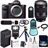 Sony Alpha a7R II Mirrorless Digital Camera, FE 24-240mm f/3.5-6.3 OSS Lens Bundle with Accessories (16-Items)