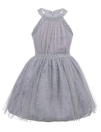 Yizyif Vestido De Boda Verano Para Niñas Vestidos Bautizo