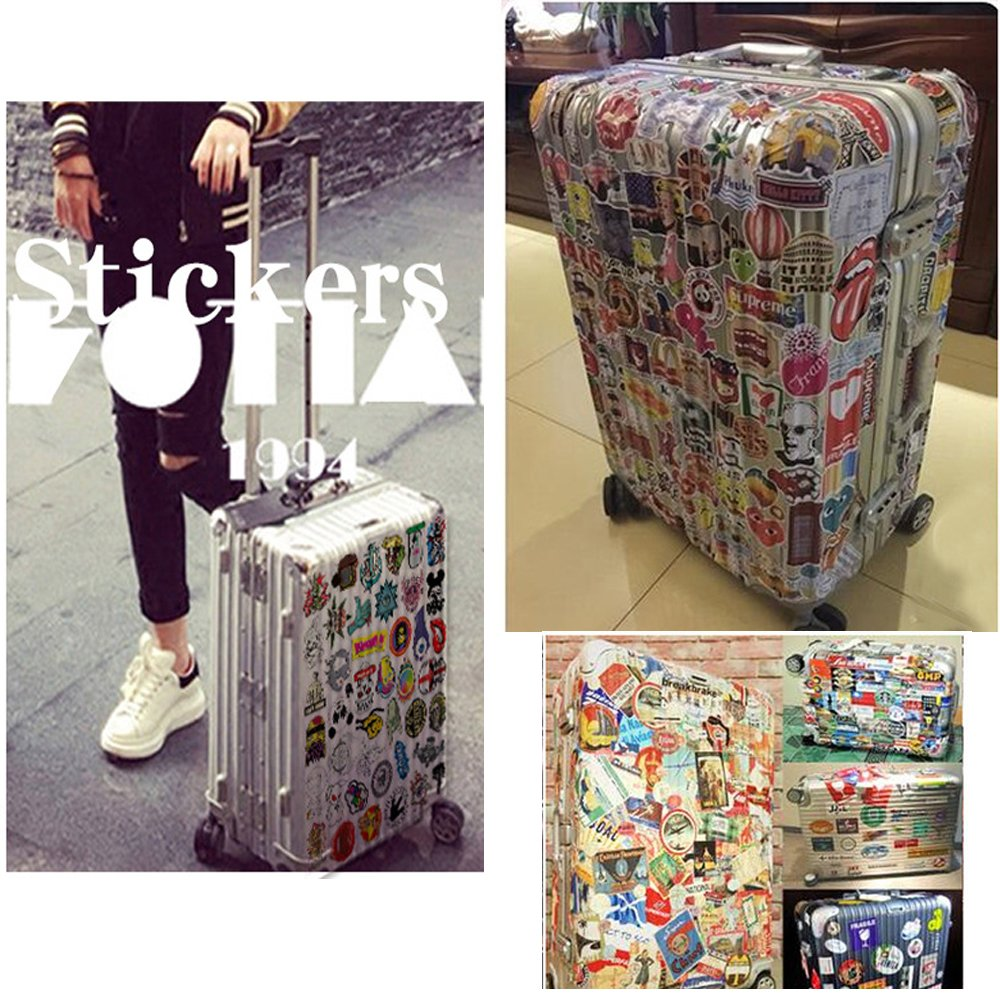 50 Pcs StickerBOMB for Laptop Skateboard Luggage Waterpoof Creative Funny Decals Fridge Phone Car Styling Home Toy Doodle Stickers QiJiaYi