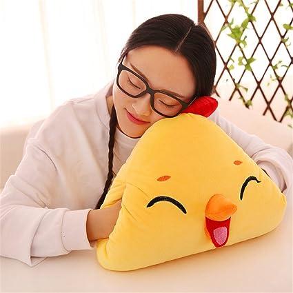 Amazon.com: Surprising Day Cartoon cute emoji chicken plush ...