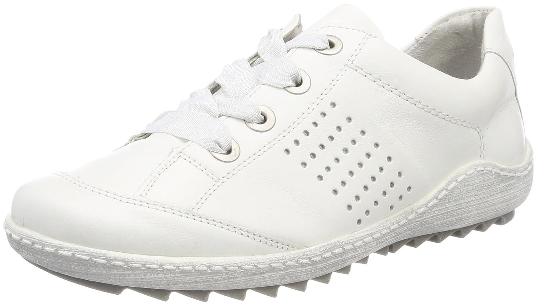 Remonte R1406, Zapatillas para Mujer 36 EU|Blanco (Reinweiss/Silver)