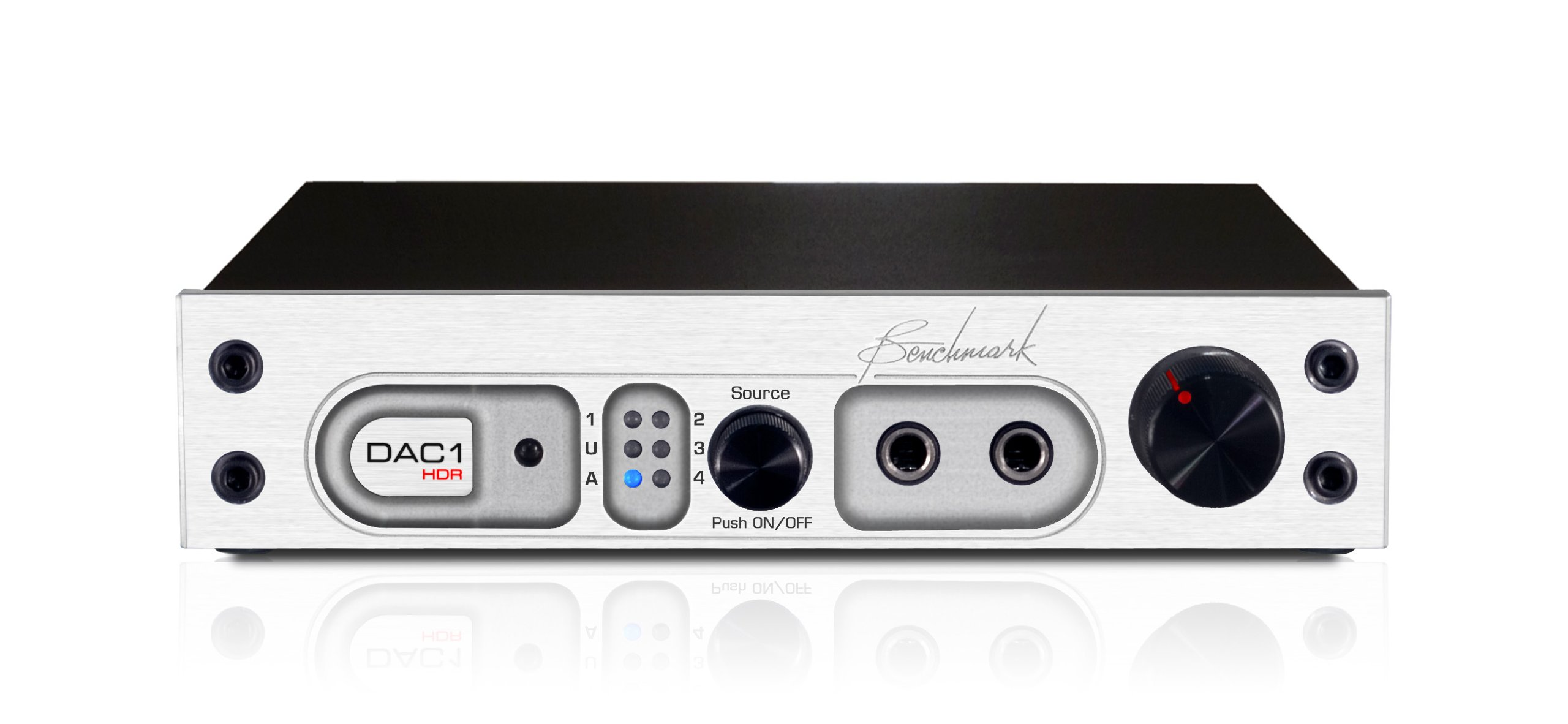 Benchmark DAC1 HDR Silver with Remote Control by Benchmark