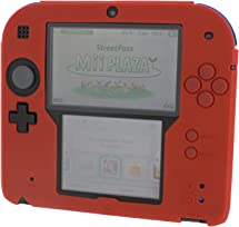 amazon com zedlabz silicone protective cover for nintendo 2ds red