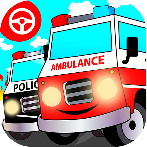Emergency ambulance games for kids: Hospital rush driving