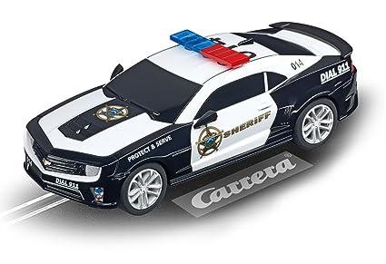 Circuito Speed Control, con Chevrolet Camaro Sheriff y Lamborghini Huracán (20062370): Amazon.es: Juguetes y juegos