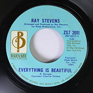 Ray Stevens - Ray Stevens 45 RPM Everything Is Beautiful / A ...