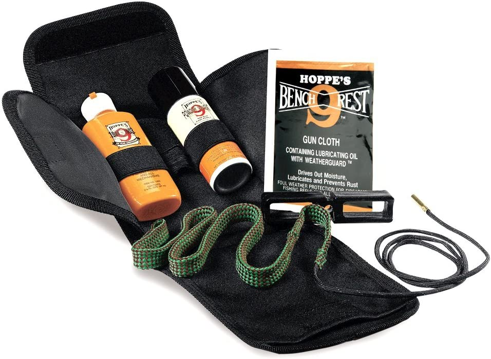 Rifle Pistol Shotgun Cleaning Kit Bore Snake Brush .17-.45 cal 12 GA Gun Cleaner
