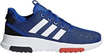 Baskets Adidas Cloudfoam Racer Tr K Bleu Achat Vente
