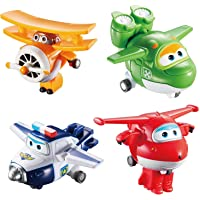 Alpha Animation & Toys 4Pk Super Wings Transform-A-Bots