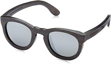 HÄRVIST, Roundwood - Gafas de sol de madera, unisex, color ébano