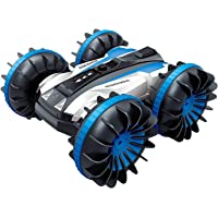 Tuptoel Rc Stunt Car Water Land 2 In 1 Car Boat Waterproof Remote Control Rc Vehicles 2.4Ghz 4Wd Double Sided Off Road…